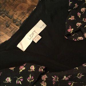 Ann Taylor floral LOFT Dress, size SP